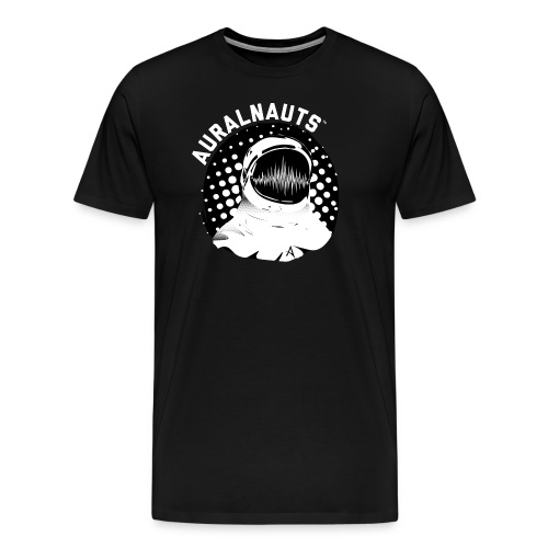 AURALNAUTS LOGO BLK MEN - Men's Premium T-Shirt