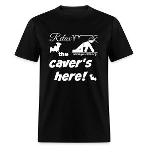 Relax, the Caver's Here. Men's T-Shirt - Men's T-Shirt