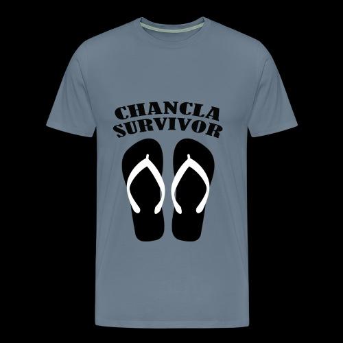 Chancla Survivor1 T-Shirts - Men's Premium T-Shirt