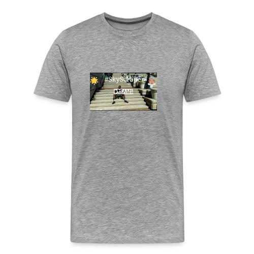 Runwayboi Steve #SkyScraper Tee - Men's Premium T-Shirt