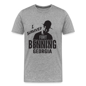 I Survived Fort Benning, Georgia - Men's Premium T-Shirt