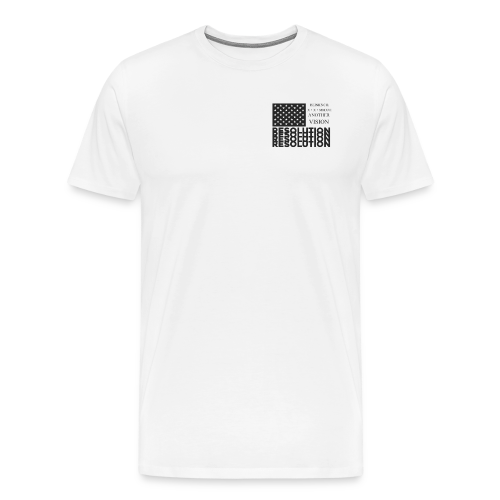 Resolution Flag Short Sleeve - Men's Premium T-Shirt