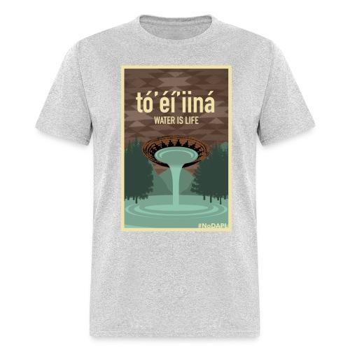 Water is Life- Diné (Men's t-shirt) - Men's T-Shirt