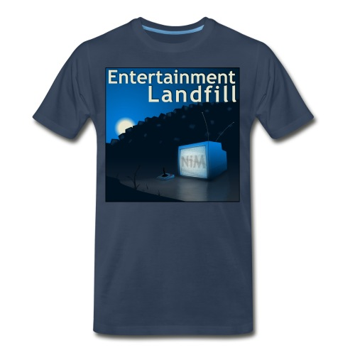 ETL Album Logo Navy - Men's Premium T-Shirt