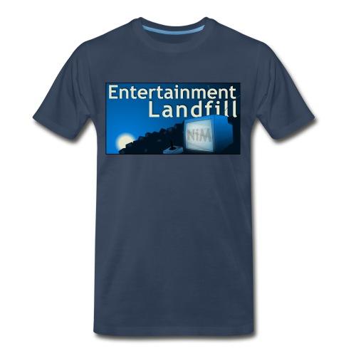ETL Widescreen Navy - Men's Premium T-Shirt