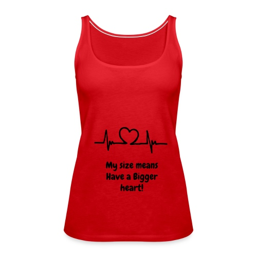 Red Heart Tank - Women's Premium Tank Top
