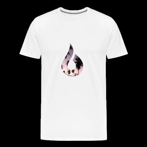 Blinks Palm Tree Short Sleeve - Men's Premium T-Shirt