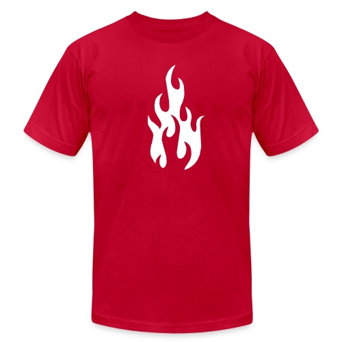 Entheos Flame- American Apparel  - Men's  Jersey T-Shirt