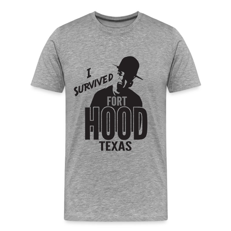 I Survived Fort Hood, TX - Men's Premium T-Shirt