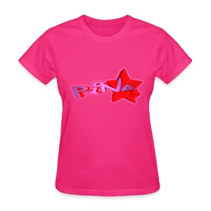 Blox3dnyc.com Urban star design for Pina - Women's T-Shirt