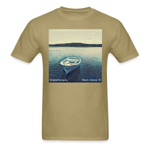 Men's T-Shirt - Block Island, RI - Men's T-Shirt