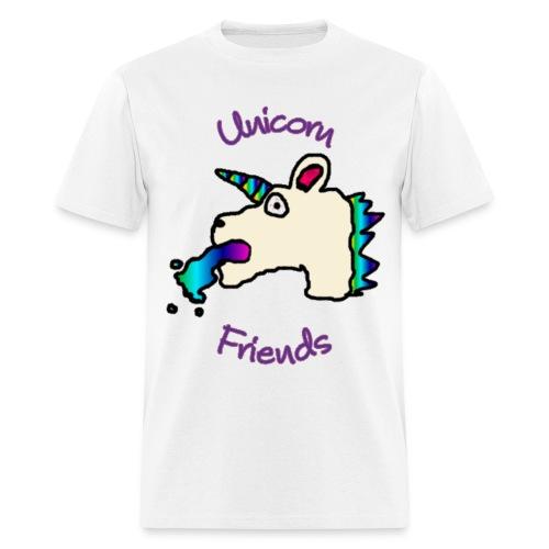 Unicorn Friends Original (Privileged Male) - Men's T-Shirt