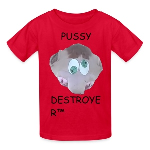 Pussy Destroyer (African Child) - Kids' T-Shirt