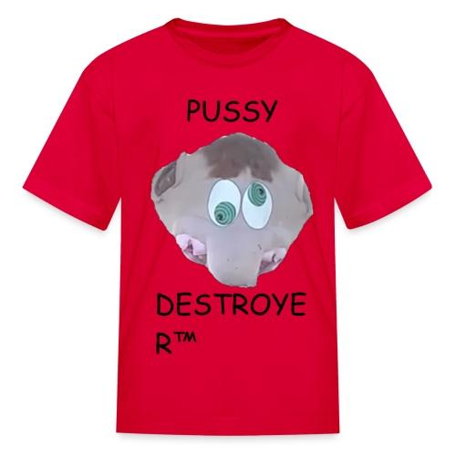 Pussy Destroyer (African Child) - Kids' T-Shirt