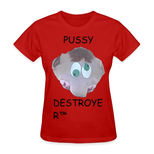 Pussy Destroyer (Underpaid Female) - Women's T-Shirt