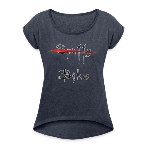 Not Spuffy, Bike - Women's Roll Cuff T-Shirt