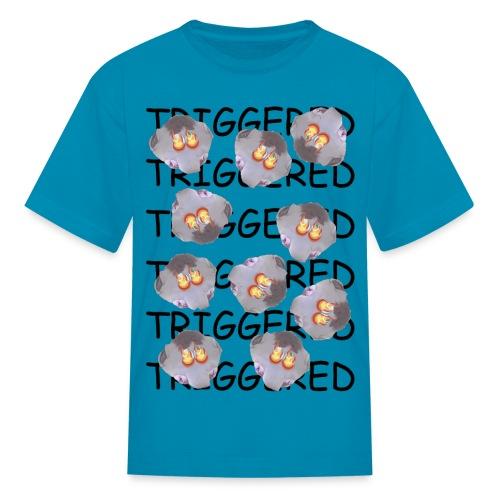 Triggered (African Child) - Kids' T-Shirt