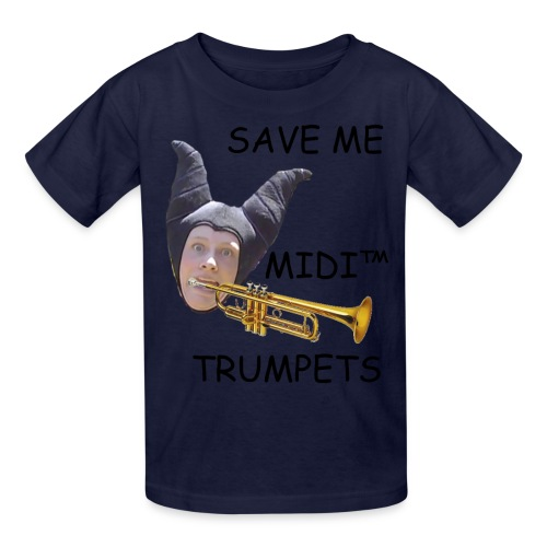 MIDI Trumpets (African Child) - Kids' T-Shirt