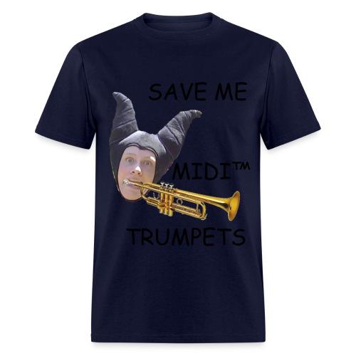 MIDI Trumpets (Privileged Male) - Men's T-Shirt