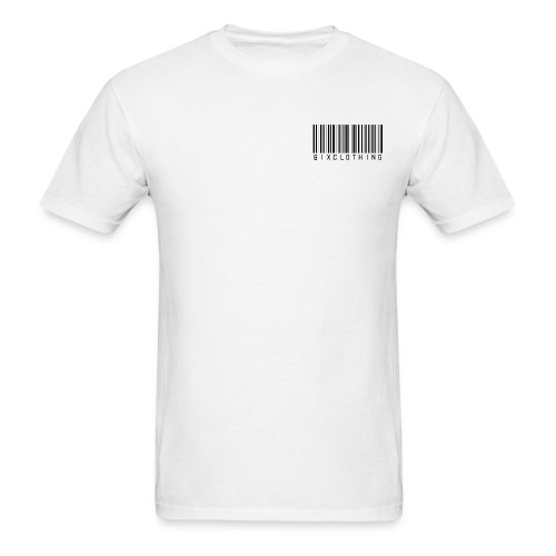 Barcode Whiteout Edition - Men's T-Shirt