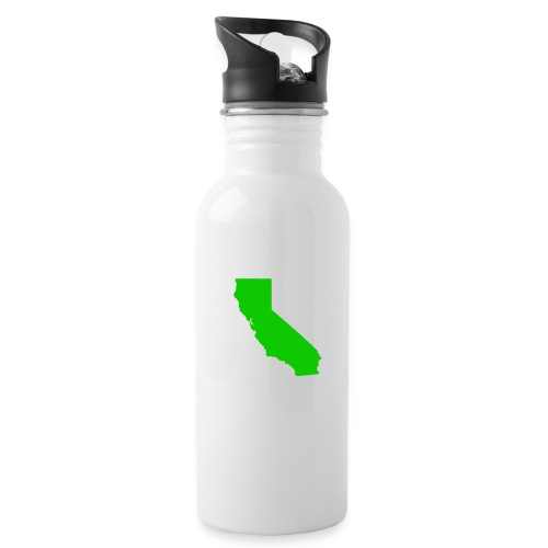 Metal California Botel - White Alunimum - Water Bottle
