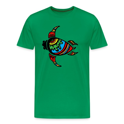 Abstract Sea Turtle  - Men's Premium T-Shirt