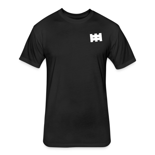 Men's Fitted Cotton Tee - Fitted Cotton/Poly T-Shirt by Next Level