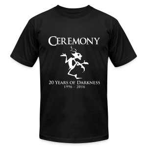 Ceremony 20 - design by Sponge Studio - Men's Fine Jersey T-Shirt