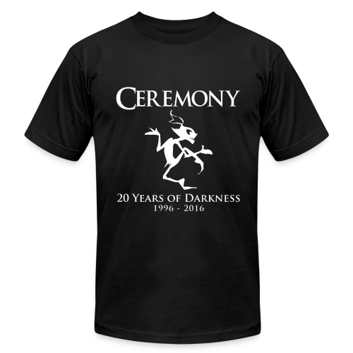 Ceremony 20 - design by Sponge Studio - Men's Fine Jersey T-Shirt