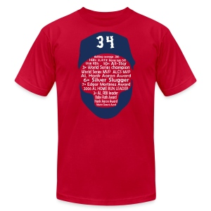 34 Legend - Men's T-Shirt by American Apparel