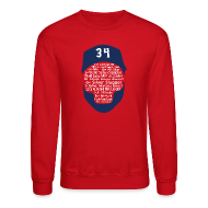 Long Sleeve Shirts ~ Crewneck Sweatshirt ~ 34 Legend