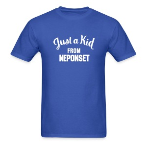 Just a Kid from Neponset - Men's T-Shirt
