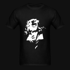 Beethoven Kiss Black Metal - Men's T-Shirt