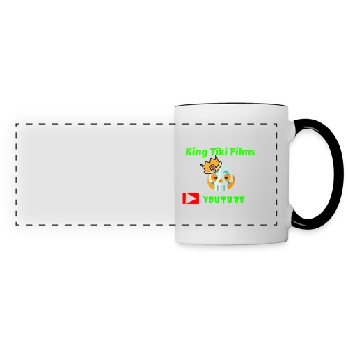 king tiki films - Panoramic Mug