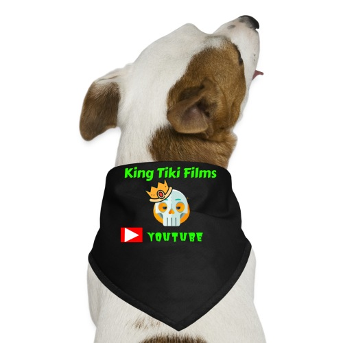 king tiki films - Dog Bandana