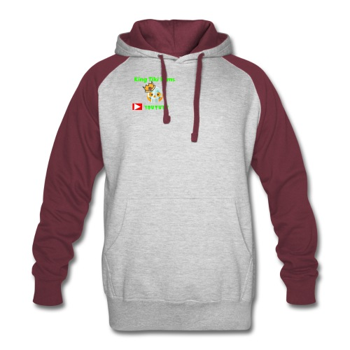 king tiki films - Colorblock Hoodie