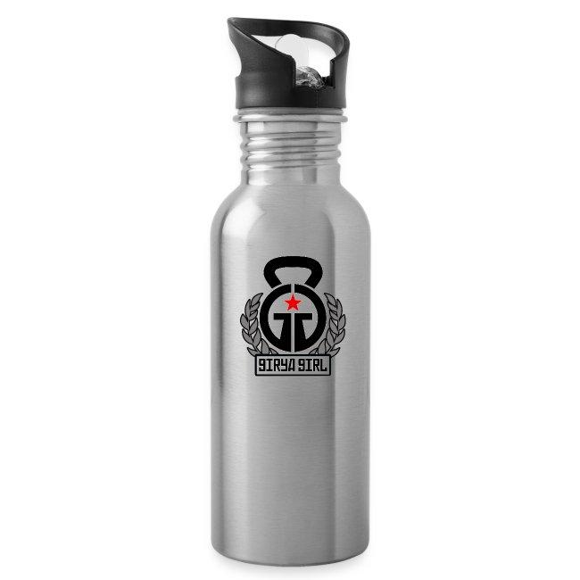 GiryaGirl.com Steel Water Bottle