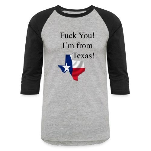 Baseball Texas - Baseball T-Shirt