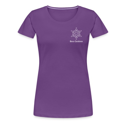 Boss Goddess Women's Logo Tee - Women's Premium T-Shirt