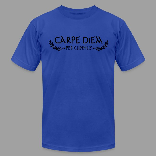 American Apparel Carpe Diem per Cunnus Men's Tee