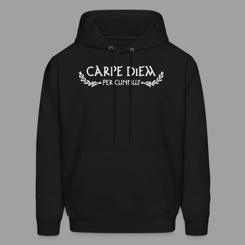 Carpe Diem Per Cunnus - Men's Hoodie