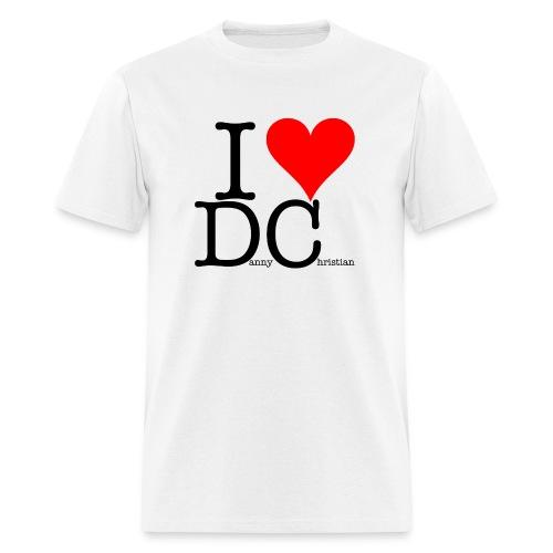 I Love Danny Christian White - Men's T-Shirt