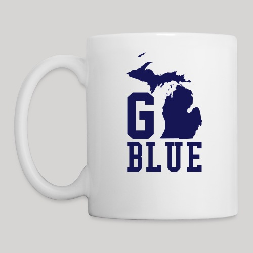 Go BLUE - Coffee/Tea Mug