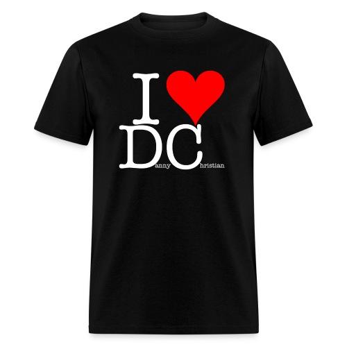 I Love Danny Christian Black - Men's T-Shirt
