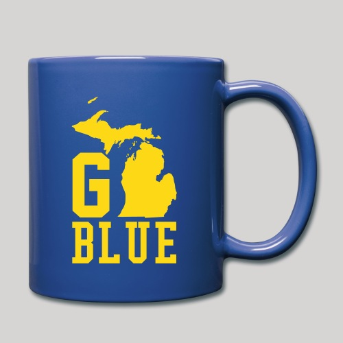 Go BLUE - Full Color Mug