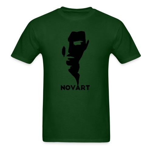 Panske   : forest green - Men's T-Shirt