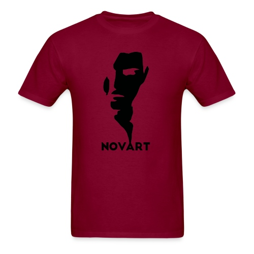 Panske   : burgundy - Men's T-Shirt