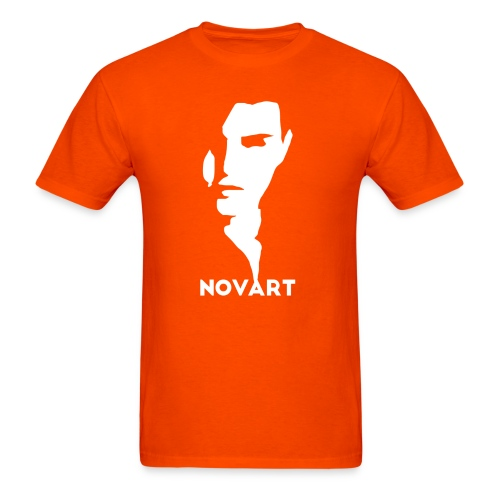 Panske Biela : orange - Men's T-Shirt