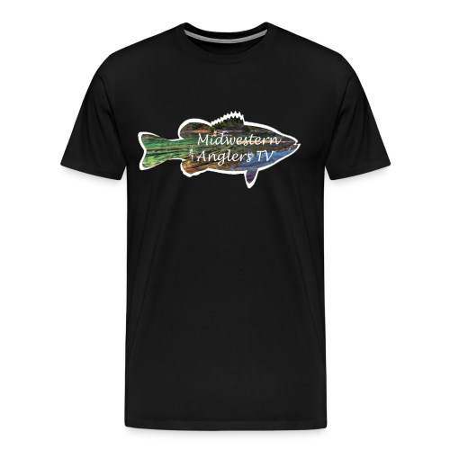 Black with color logo - Men's Premium T-Shirt