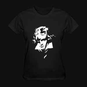Beethoven Kiss Black Metal - Women's T-Shirt